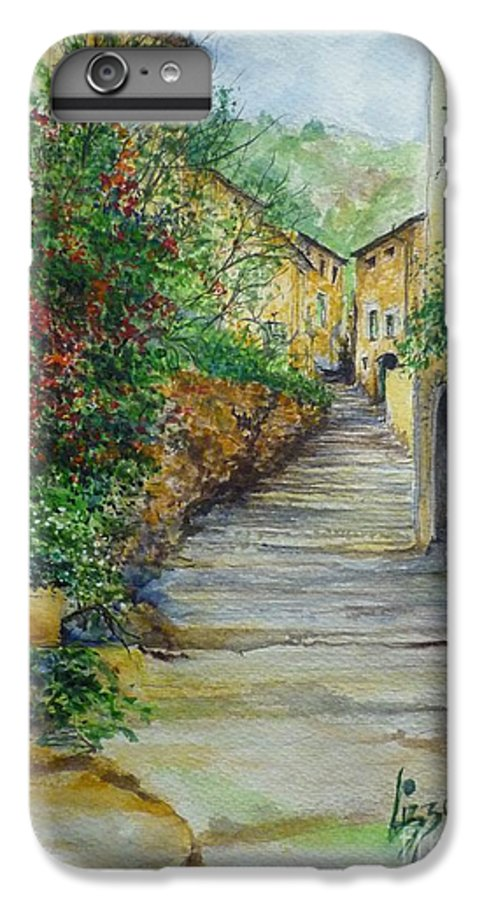 Original Paintings Of Mallorca IPhone 6s Plus Case featuring the painting The Balearics Typical Spain by Lizzy Forrester