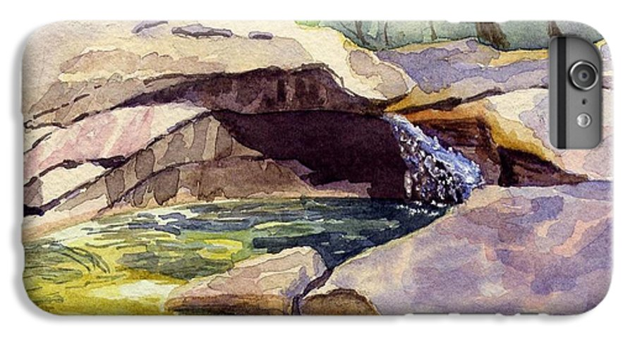 The Basin IPhone 6s Plus Case featuring the painting The Basin by Sharon E Allen