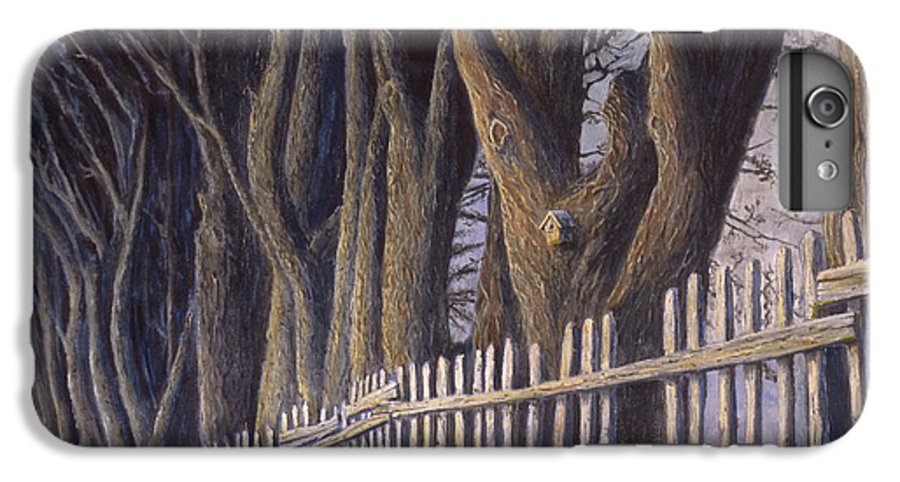 Bird House IPhone 6s Plus Case featuring the painting The Bird House by Jerry McElroy