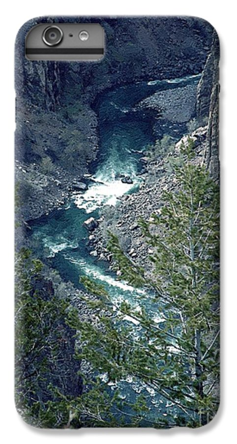 Canyon IPhone 6s Plus Case featuring the painting The Black Canyon Of The Gunnison by RC DeWinter
