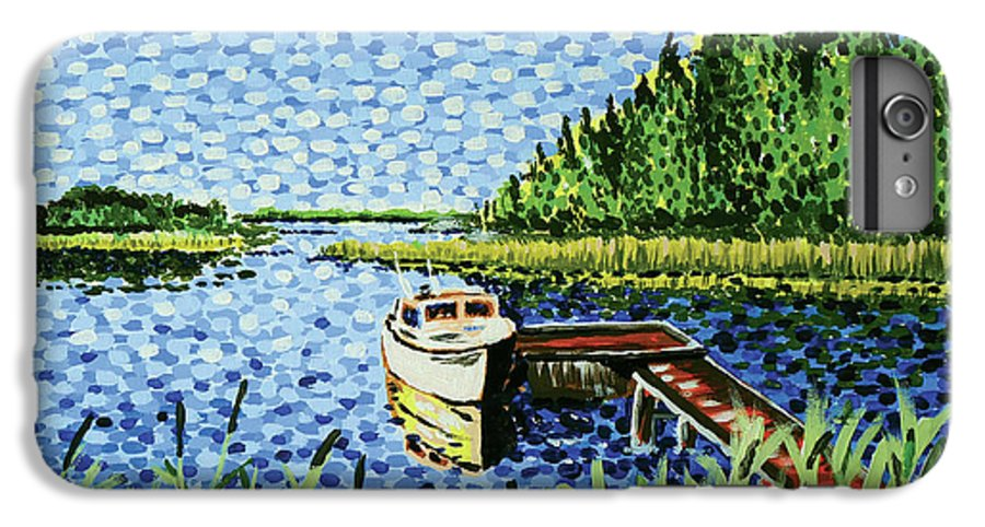 Hogan IPhone 6s Plus Case featuring the painting The Calypso by Alan Hogan