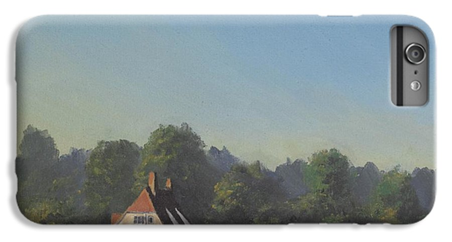 Landscape Trees IPhone 6s Plus Case featuring the painting The Crooked Billet by Richard Picton