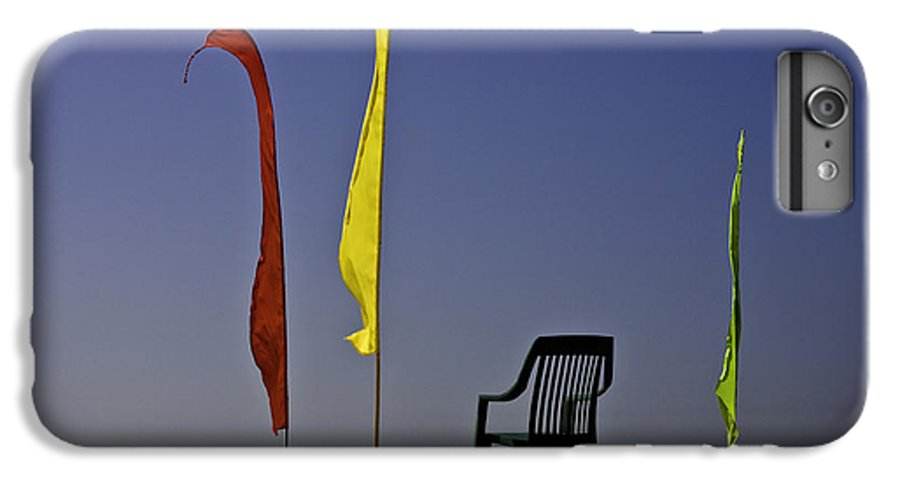 Beach IPhone 6s Plus Case featuring the photograph The Empty Chair by Avalon Fine Art Photography