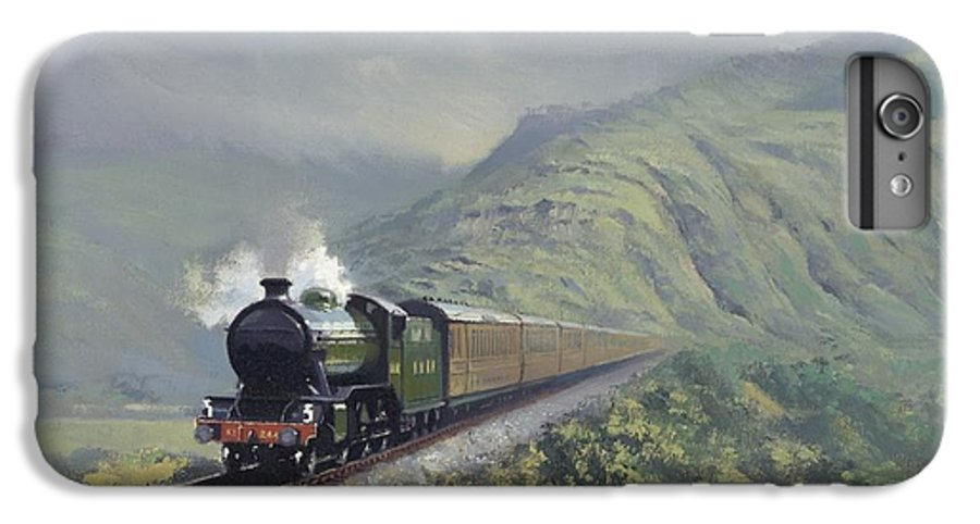 Steam IPhone 6s Plus Case featuring the painting the Great Marquess by Richard Picton