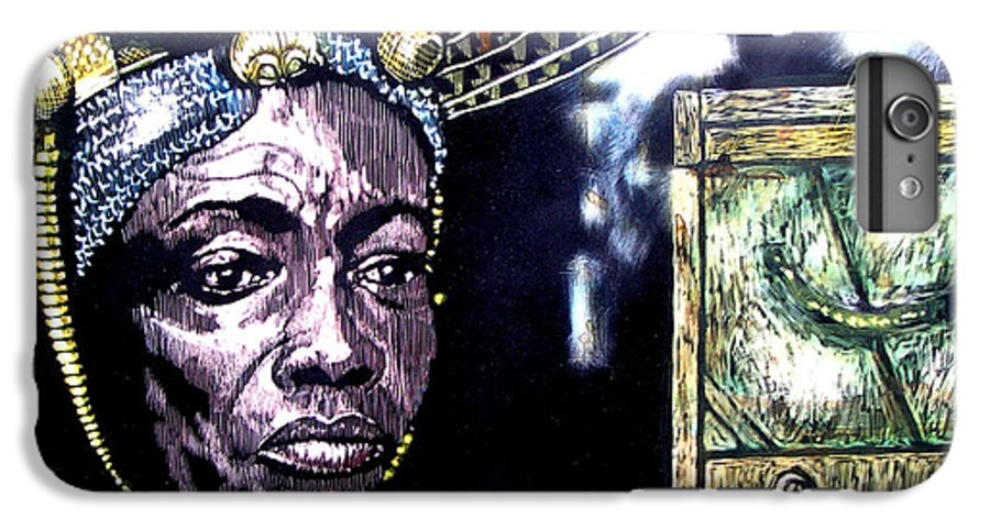 IPhone 6s Plus Case featuring the mixed media The Promise Keeper by Chester Elmore