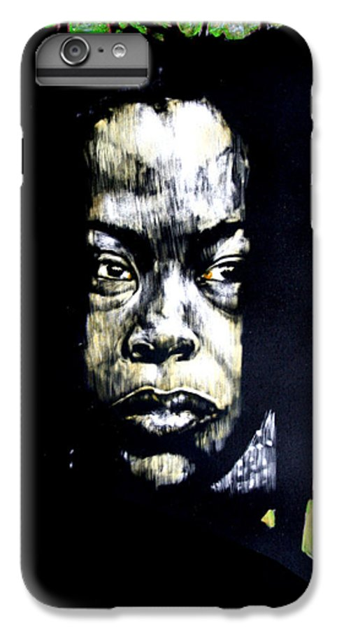 Portraits IPhone 6s Plus Case featuring the mixed media The Promise Of Spring by Chester Elmore