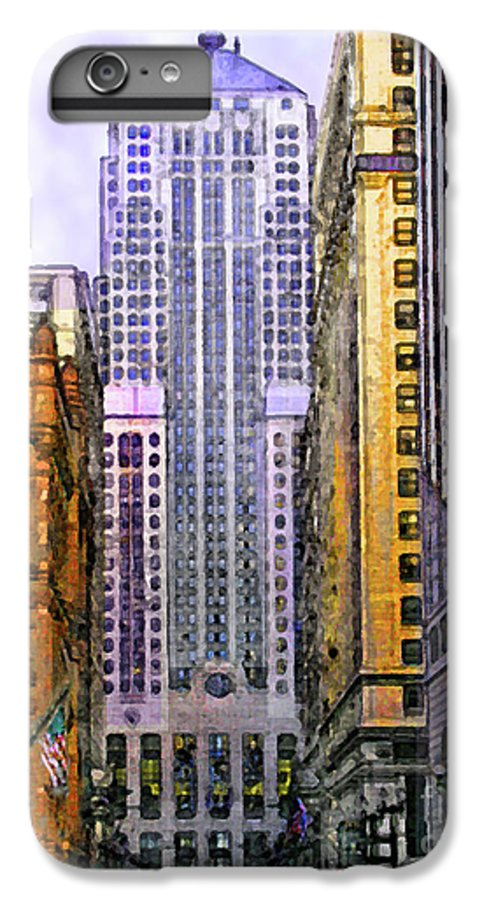 Trading Places IPhone 6s Plus Case featuring the digital art Trading Places by John Beck