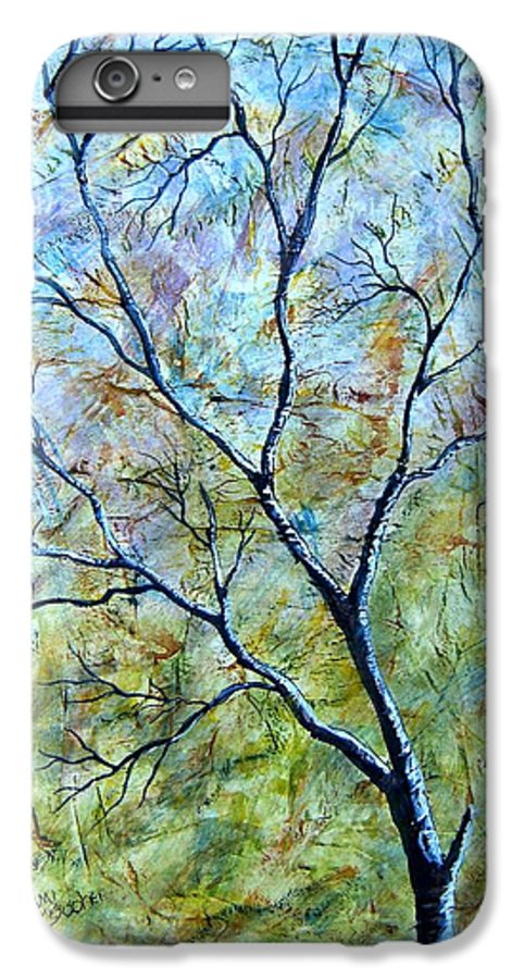 IPhone 6s Plus Case featuring the painting Tree Number Two by Tami Booher