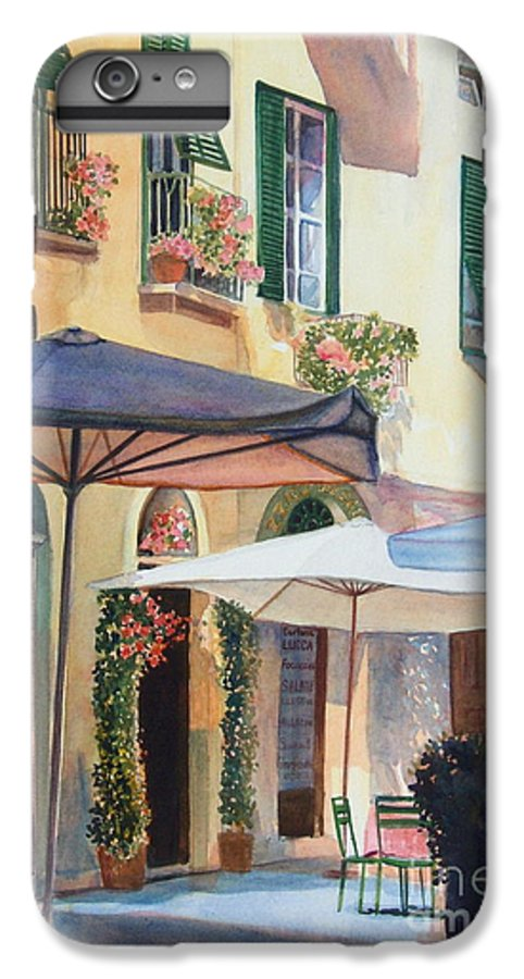 Tuscan IPhone 6s Plus Case featuring the painting Tuscan Sunlight by Ann Cockerill