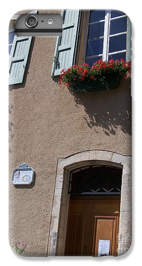 House IPhone 6s Plus Case featuring the photograph Un Maison by Nadine Rippelmeyer