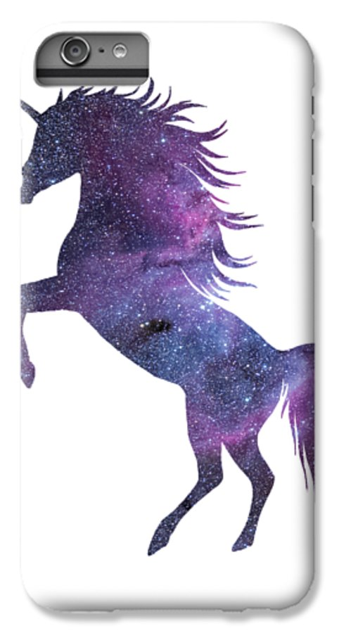 new product 68914 b57c3 Unicorn In Space-transparent Background IPhone 6s Plus Case