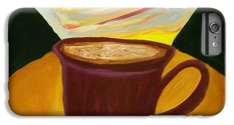 Up All Night IPhone 6s Plus Case featuring the painting Up All Night by Beth Cornell