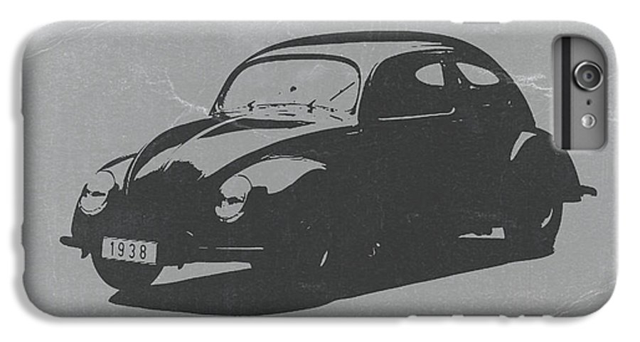 Vw Beetle IPhone 6s Plus Case featuring the photograph Vw Beetle by Naxart Studio