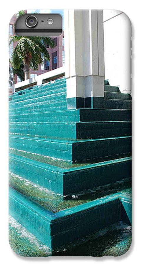 Architecture IPhone 6s Plus Case featuring the photograph Water At The Federl Courthouse by Rob Hans