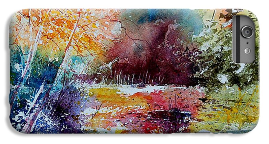 Pond IPhone 6s Plus Case featuring the painting Watercolor 140908 by Pol Ledent