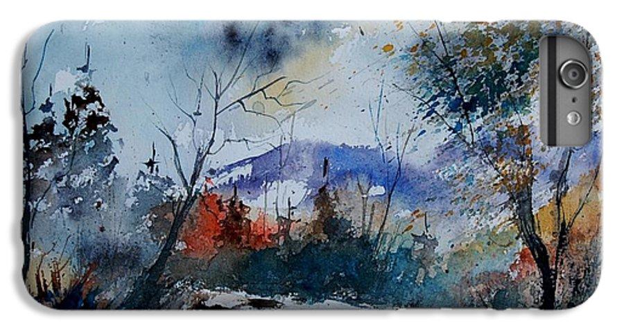 Landscape IPhone 6s Plus Case featuring the painting Watercolor 802120 by Pol Ledent