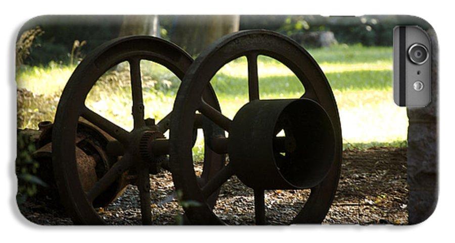 Wheel IPhone 6s Plus Case featuring the photograph Wheels Of War-spanish American War Artifacts by Faith Harron Boudreau