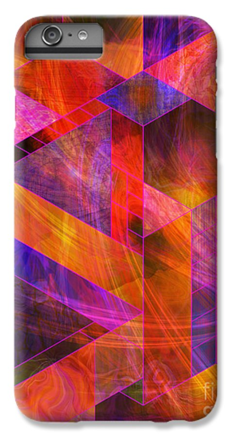 Wild Fire IPhone 6s Plus Case featuring the digital art Wild Fire by John Beck