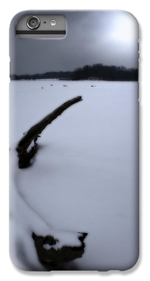 Winter IPhone 6s Plus Case featuring the photograph Winter Moonrise by Kenneth Krolikowski