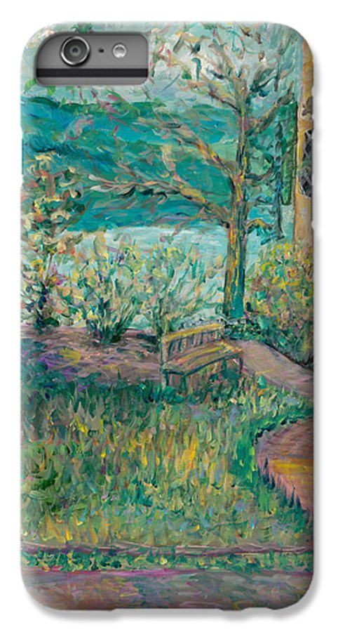 Big Cedar Lodge IPhone 6s Plus Case featuring the painting Worman House At Big Cedar Lodge by Nadine Rippelmeyer