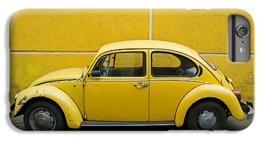 Yellow IPhone 6s Plus Case featuring the photograph Yellow Bug by Skip Hunt