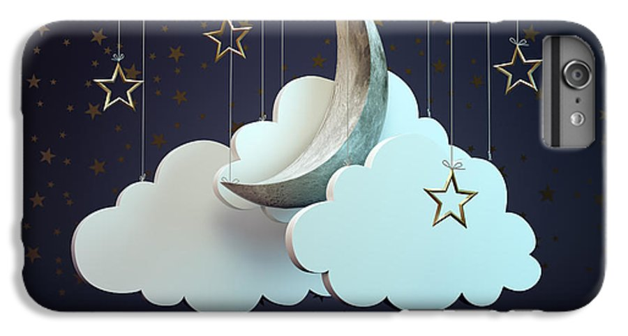 Magic IPhone 6s Plus Case featuring the digital art A Night Sky Theater Scene by Mopic