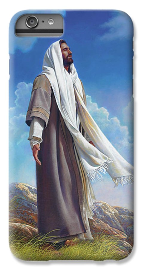 Jesus IPhone 6s Plus Case featuring the painting Be Still by Greg Olsen