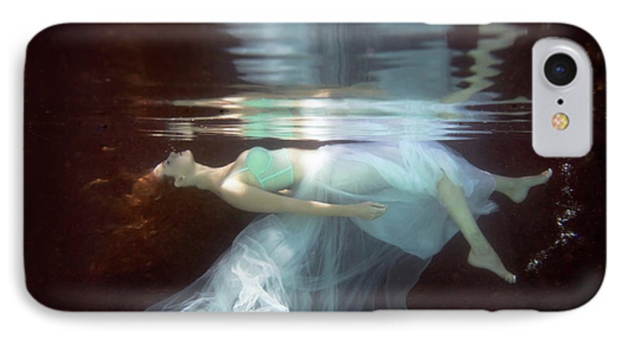 Underwater IPhone 7 Case featuring the photograph Laura by Gabriela Slegrova