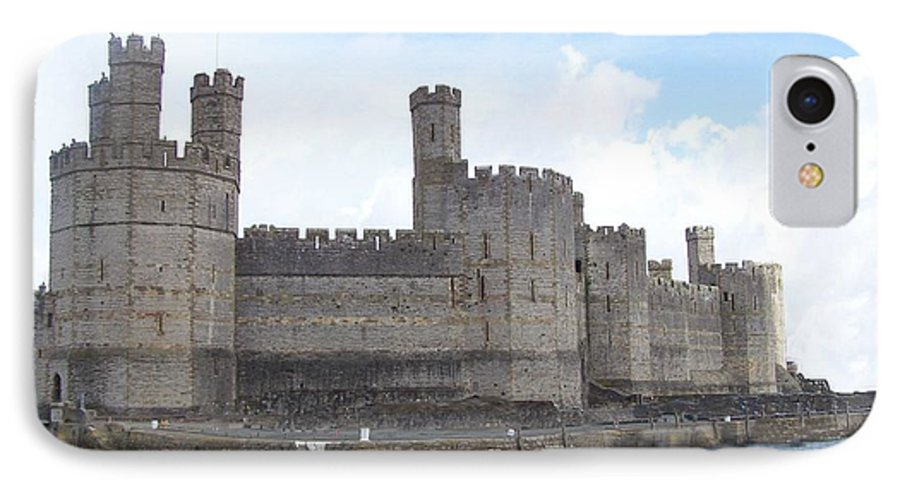 Castles IPhone 7 Case featuring the photograph Caernarfon Castle by Christopher Rowlands