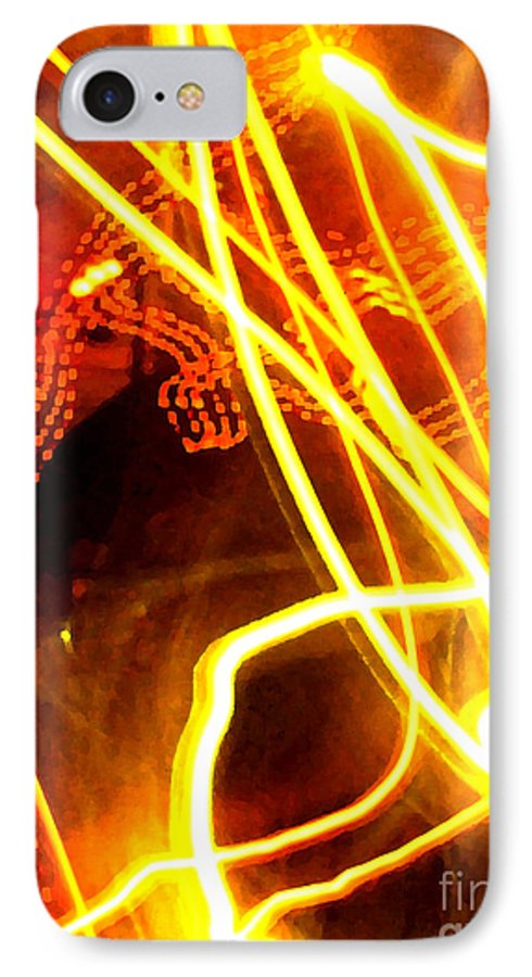 Abstract IPhone 7 Case featuring the photograph Abstract by Amanda Barcon
