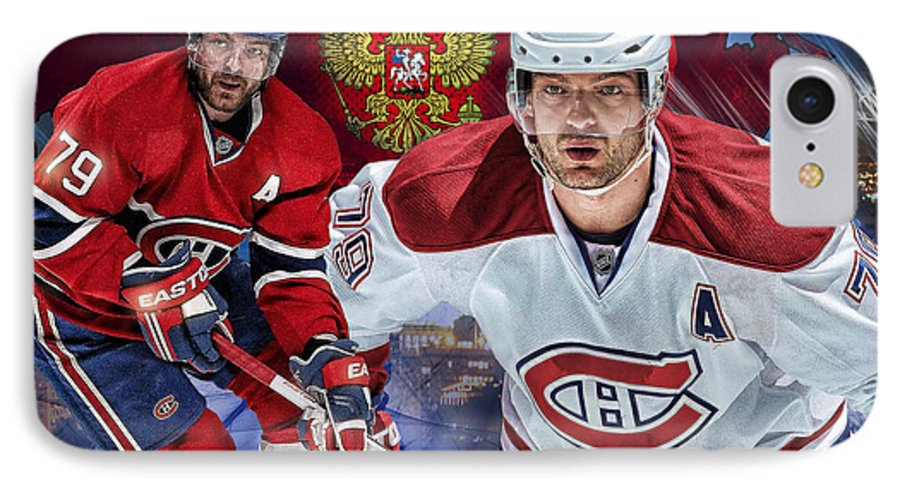 Andrei Markov IPhone 7 Case featuring the digital art Markov Poster Print by Nicholas Legault