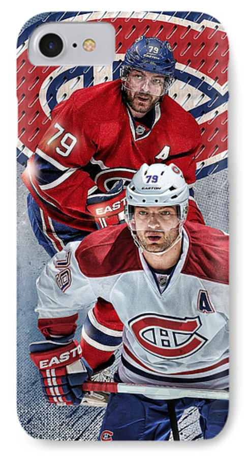 Andrei Markov IPhone 7 Case featuring the digital art Markov Phone Cover by Nicholas Legault