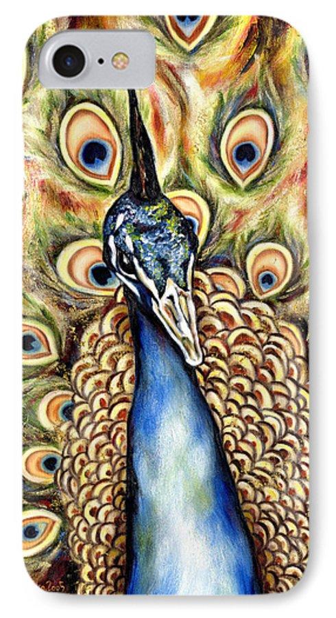 Bird IPhone 7 Case featuring the painting Applause by Hiroko Sakai