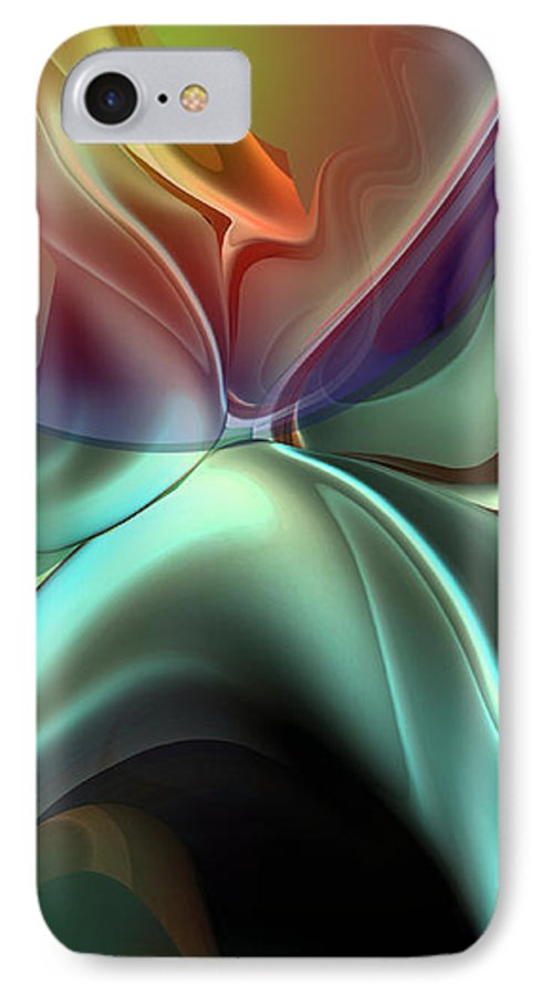 Reminiscence IPhone 7 Case featuring the painting Baroque Music Reminiscence by Christian Simonian