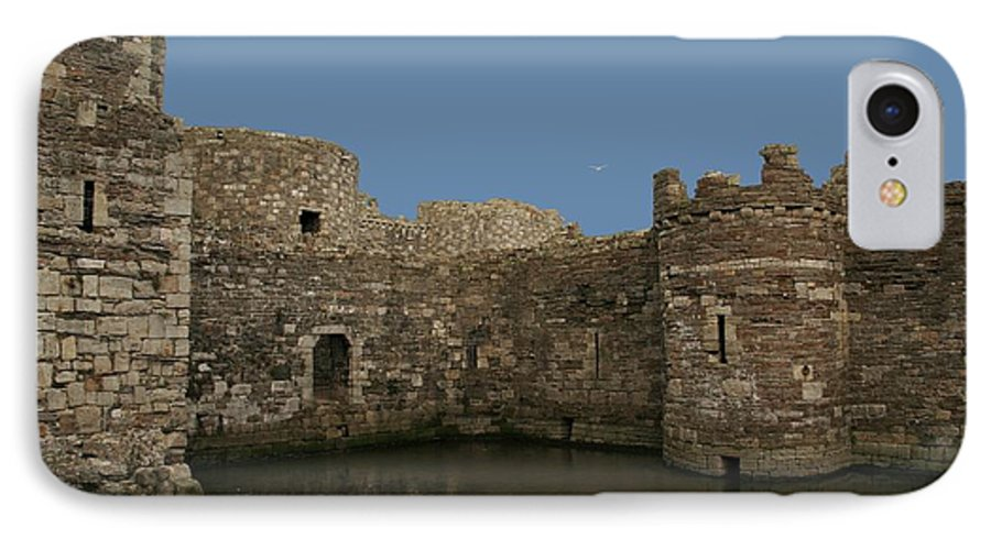 Castles IPhone 7 Case featuring the photograph Beamaris Castle by Christopher Rowlands