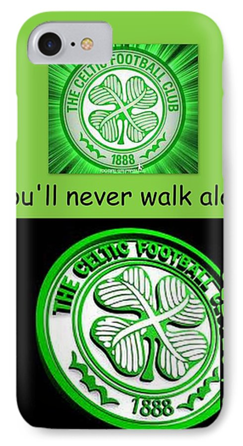youll never walk alone iphone 7 case