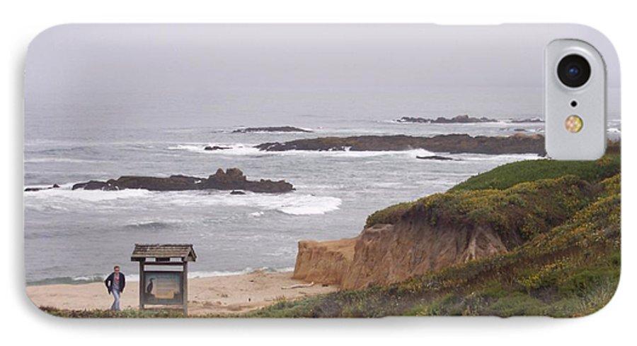 Coast IPhone 7 Case featuring the photograph Coastal Scene 7 by Pharris Art