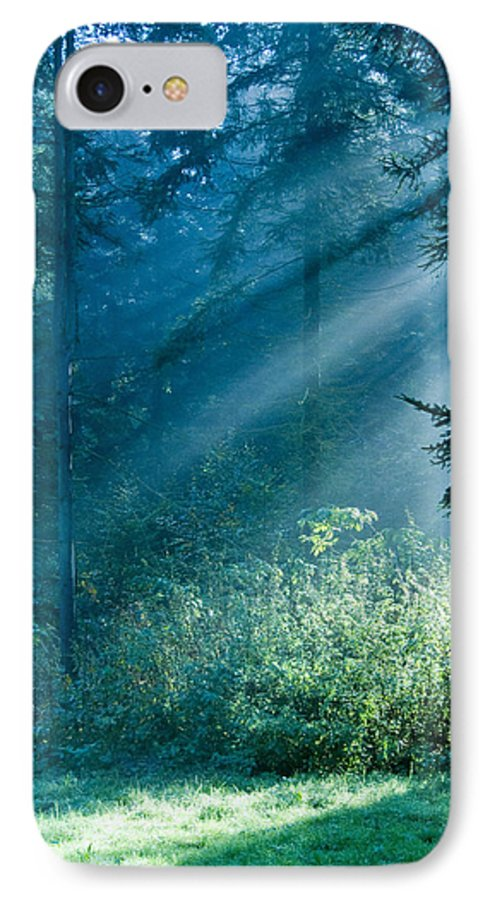 Nature IPhone 7 Case featuring the photograph Elven Forest by Daniel Csoka