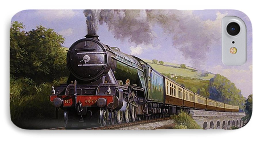The Flying Scotsman 358 Vintage Railway Art