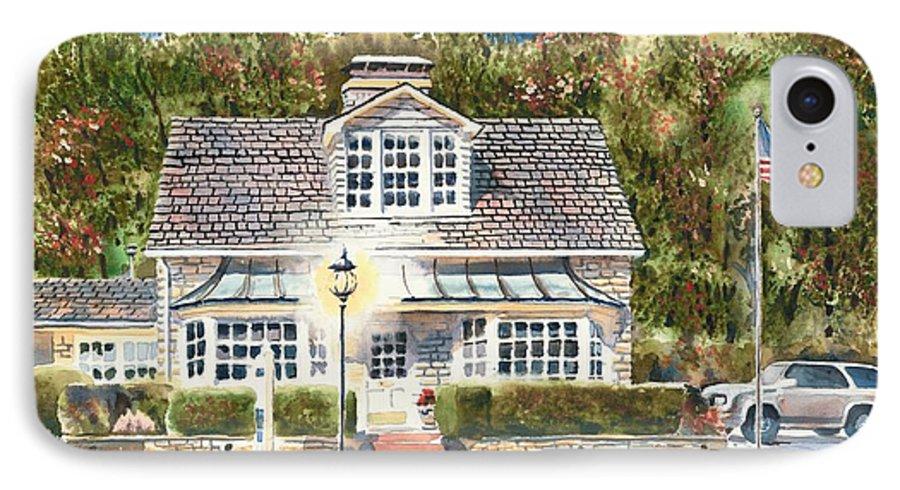 Greystone Inn Ii IPhone 7 Case featuring the painting Greystone Inn II by Kip DeVore