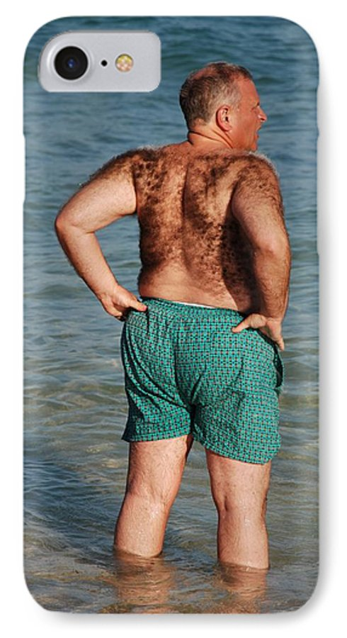 Man IPhone 7 Case featuring the photograph Hairy Ocean by Rob Hans
