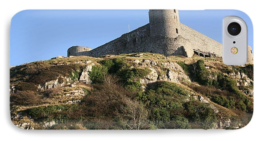 Castles IPhone 7 Case featuring the photograph Harlech Castle by Christopher Rowlands