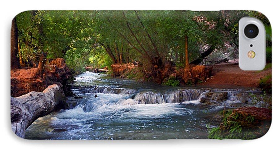 Arizona IPhone 7 Case featuring the photograph Havasu Creek by Kathy McClure