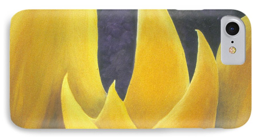 Tulips IPhone 7 Case featuring the painting Hope by Christina Rahm Galanis