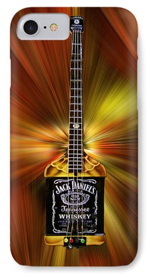 Jack Daniels Whiskey Guitar IPhone 7 Case