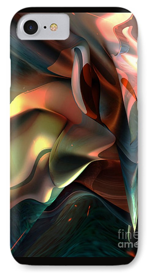 Painter IPhone 7 Case featuring the painting Jerome Bosch Atmosphere by Christian Simonian