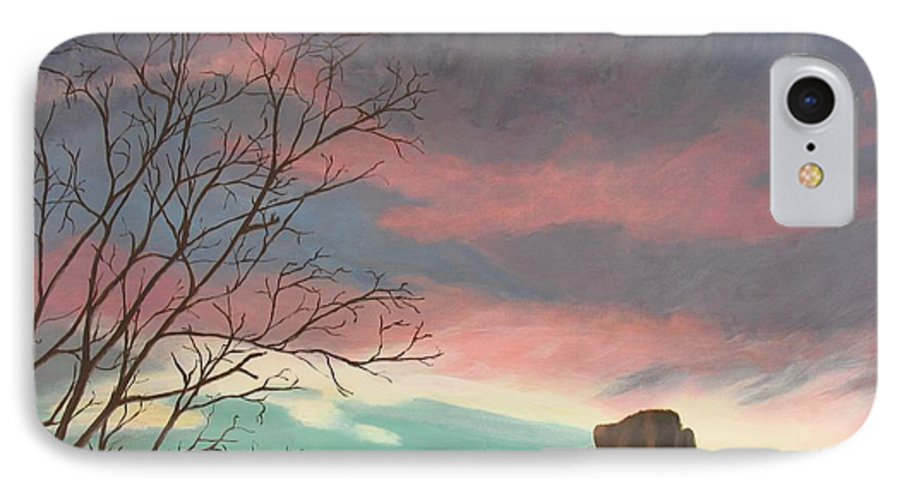 Sedona IPhone Case featuring the painting Jewels In The Sky by Janis Mock-Jones