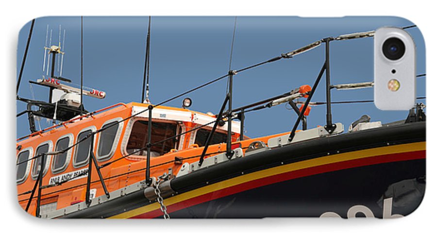 Life IPhone 7 Case featuring the photograph Life Boat by Christopher Rowlands