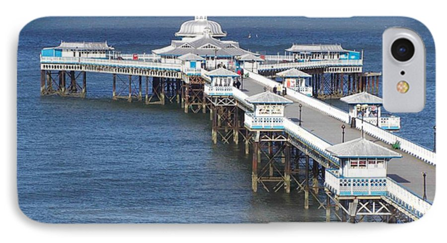 Piers IPhone 7 Case featuring the photograph Llandudno Pier by Christopher Rowlands