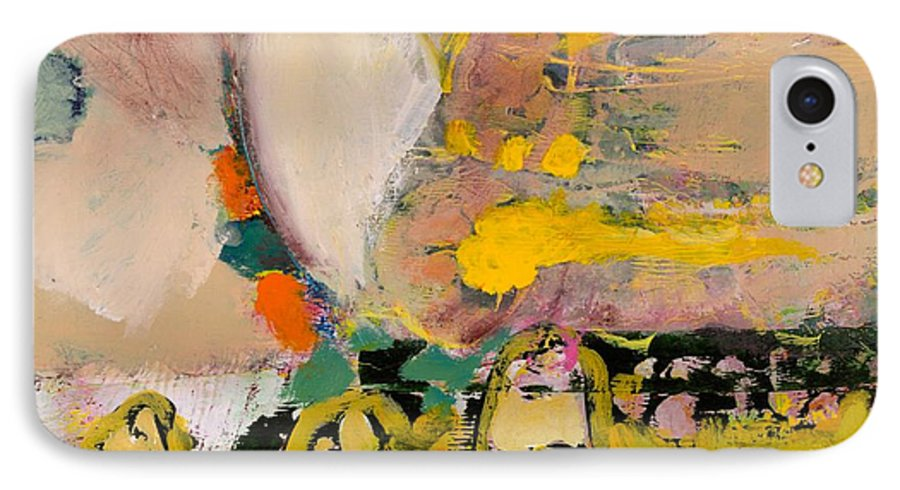 Landscape IPhone 7 Case featuring the painting Locomotion by Allan P Friedlander